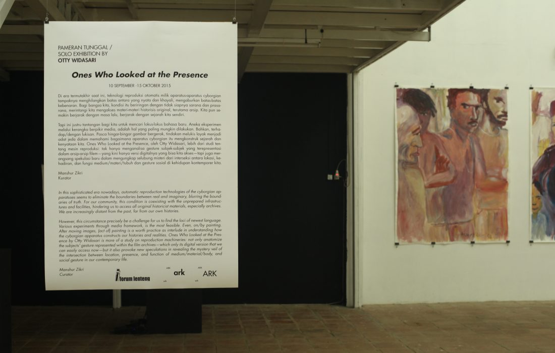 Exhibition view. Image courtesy: ARK Galerie
