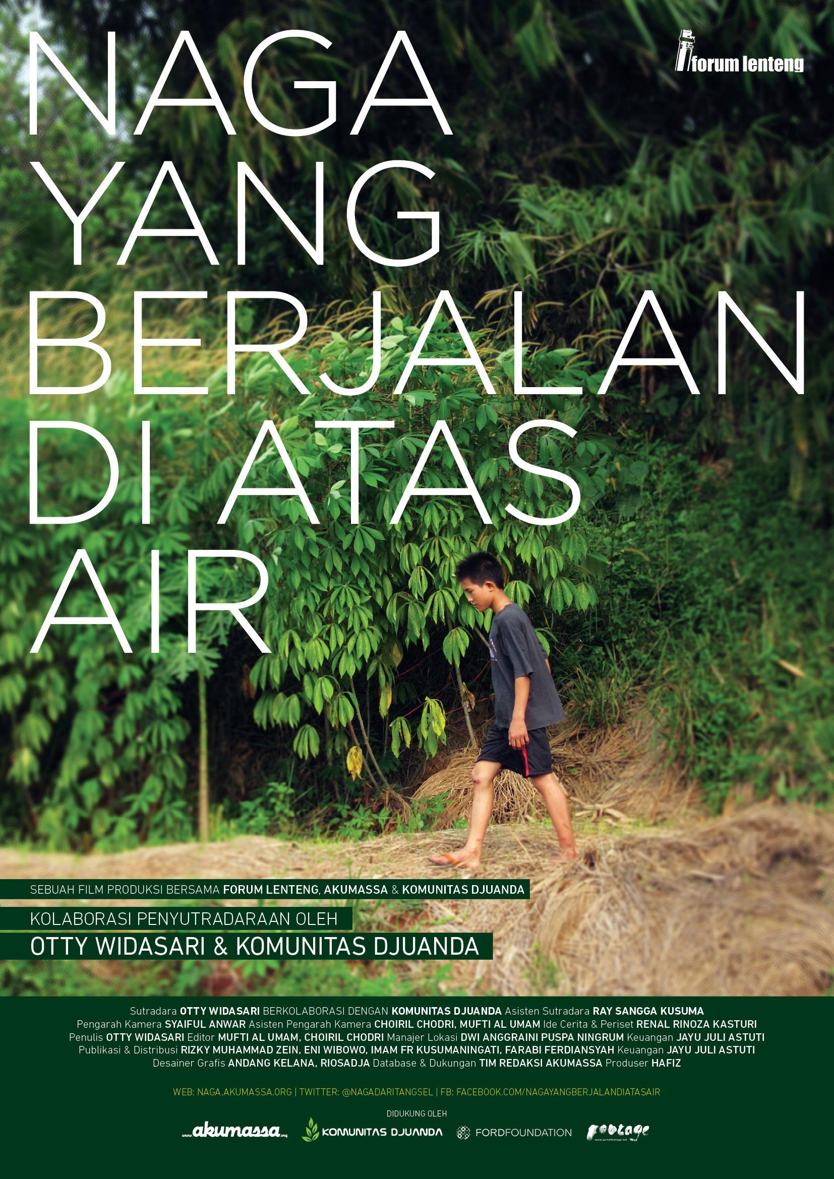 Poster of Naga Yang Berjalan di Atas Air by Otty Widasari